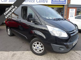 2013 FORD TRANSIT CUSTOM