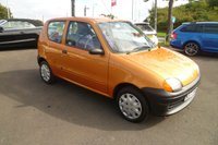 USED 2000 w FIAT SEICENTO 0.9 S 3d 39 BHP FULL SERVICE HISTORY, 2 OWNERS FROM NEW, VERY LOW MILEAGE