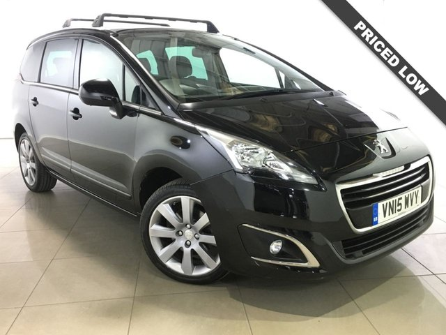View our 2015 15 PEUGEOT 5008 1.6 BLUE HDI S/S ALLURE 5d 120 BHP