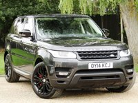 2014 LAND ROVER RANGE ROVER SPORT 4.4 AUTOBIOGRAPHY DYNAMIC 5d 339 BHP £47990.00