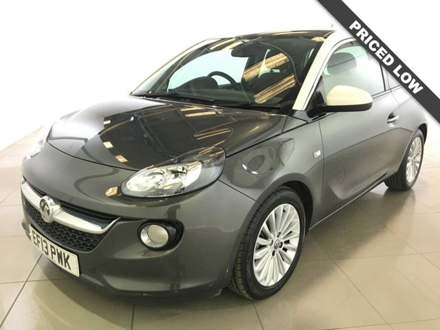 View our 2013 13 VAUXHALL ADAM 1.2 GLAM 3d 69 BHP