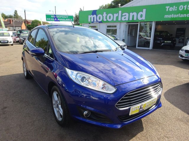 USED 2014 63 FORD FIESTA 1.2 ZETEC 5d 81 BHP 1 PRIVATE OWNER FROM NEW.....SERVICE HISTORY.....TEST DRIVE TODAY CALL 01543 877320