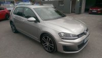 2014 VOLKSWAGEN GOLF  GTD 2.0 5d WITH 181 BHP IN METALLIC SILVER WITH A FULL DOCUMENTED SERVICE HISTORY  £11799.00