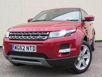 USED 2013 62 LAND ROVER RANGE ROVER EVOQUE 2.2 TD4 PURE TECH 5d 150 BHP