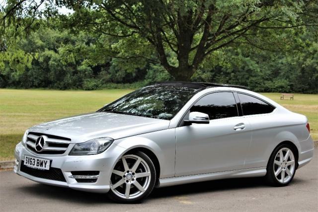 2013 63 MERCEDES-BENZ C CLASS 2.1 C220 CDI BlueEFFICIENCY AMG Sport Sport Coupe 7G-Tronic Plus 2dr