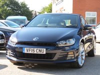 2015 VOLKSWAGEN SCIROCCO 1.4 GT TSI BLUEMOTION TECHNOLOGY 2d 123 BHP