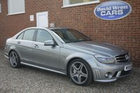 USED 2010 10 MERCEDES-BENZ C CLASS 6.2 C63 AMG 4d AUTO 451 BHP
