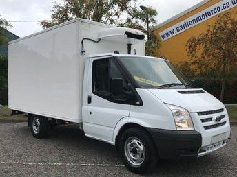 2013 FORD TRANSIT 2.2 T350EF LWB Refrigerated Chiller High Roof Box Van+ Standby   £5950.00