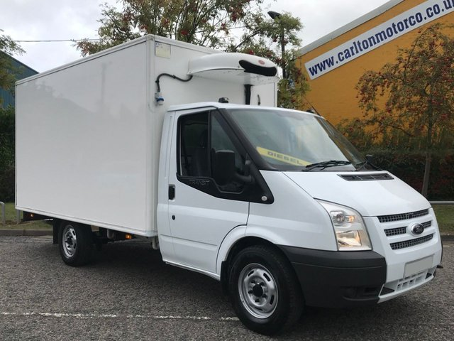 2013 63 FORD TRANSIT 2.2 T350EF LWB Refrigerated Chiller High Roof Box Van+ Standby