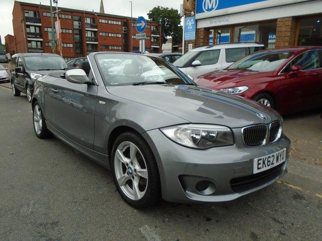 2012 62 BMW 1 SERIES 2.0 118D EXCLUSIVE EDITION 2d 141 BHP