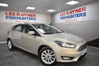 USED 2015 15 FORD FOCUS 1.0 TITANIUM 5d 100 BHP Low Tax, Great MPG, Bluetooth, DAB Radio, park sensors