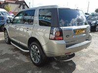 USED 2012 62 LAND ROVER FREELANDER 2.2 SD4 HSE LUXURY 5d AUTO 190 BHP