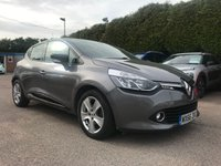 2016 RENAULT CLIO 0.9 TCE DYNAMIQUE NAV  5d FREE ROAD TAX AND SAT NAV  £8000.00
