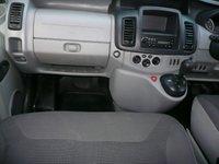 USED 2012 12 VAUXHALL VIVARO 2.0 2900 COMBI CDTI CREWCAB 6 SEATER AUTO TECSHIFT 5d113 BHP