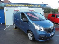 2015 RENAULT TRAFIC  BUSINESS PLUS ENERGY DCI  120 BHP  AIR CON !! LOW MILEAGE !! 23,000 FULL SERVICE HISTORY LASTED SERVICE AT 22,000 MILES £10995.00