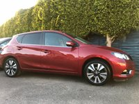 USED 2016 16 NISSAN PULSAR 1.5 DCI N-CONNECTA 5d WITH SAT NAV AND NISSAN WARRANTY  NO DEPOSIT  PCP/HP FINANCE ARRANGED, APPLY HERE NOW