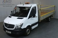 USED 2014 64 MERCEDES-BENZ SPRINTER 2.1 313 CDI 129 BHP LWB RWD DROPSIDE LORRY ONE OWNER SERVICE HISTORY