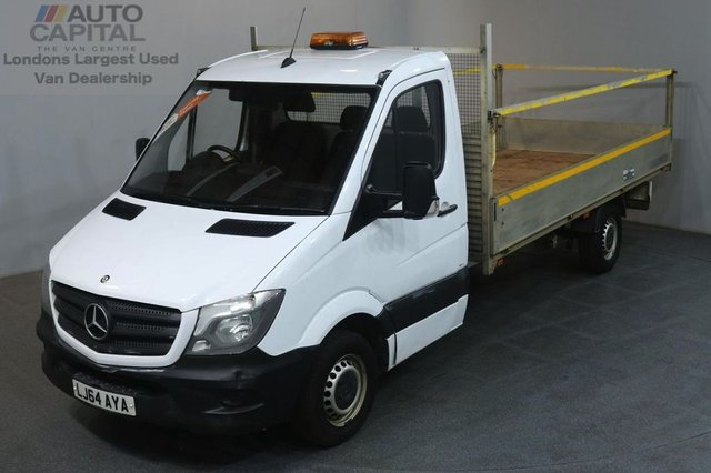 2014 64 MERCEDES-BENZ SPRINTER 2.1 313 CDI 129 BHP LWB RWD DROPSIDE LORRY ONE OWNER SERVICE HISTORY