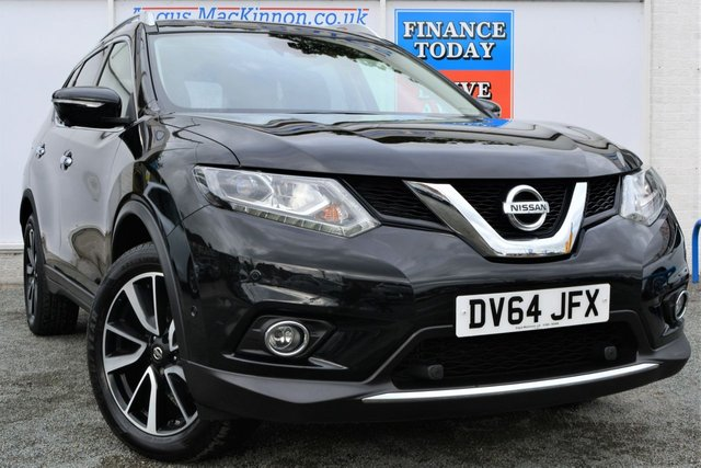 2014 64 NISSAN X-TRAIL 1.6 DCI TEKNA Great High Spec 4x4 Looks Stunning in Black with Very Low Mileage