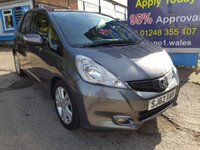 USED 2012 62 HONDA JAZZ 1.3 I-VTEC EX 5d 98 BHP, only 53000 miles, 1 Owner ***APPROVED DEALER FOR CAR FINANCE247 AND ZUTO  ***
