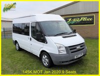 2007 FORD TRANSIT 2.2 280 TOURNEO 9STR 1d 109 BHP £2500.00