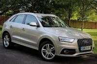 USED 2013 63 AUDI Q3 2.0 TDI S LINE 5d 138 BHP SAT NAV-BLUETOOTH-MEDIA