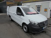 2015 MERCEDES-BENZ VITO 1.6 CDI, 111 LONG WHEEL BASE, ONLY 20,000 MILES! BLUETOOTH, CRUISE, TWIN SIDE DOORS, FULL HISTORY £12995.00
