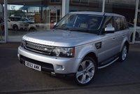 2012 LAND ROVER RANGE ROVER SPORT 3.0 SDV6 HSE LUXURY 5d AUTO 255 BHP £21950.00