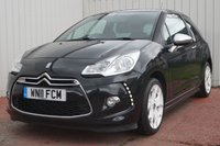 USED 2011 11 CITROEN DS3 1.6 HDI BLACK AND WHITE 3d 90 BHP £20 PER YEAR ROAD TAX