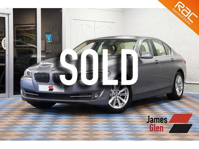 USED 2010 60 BMW 5 SERIES 2.0 520D SE 4d 181 BHP Full Service History