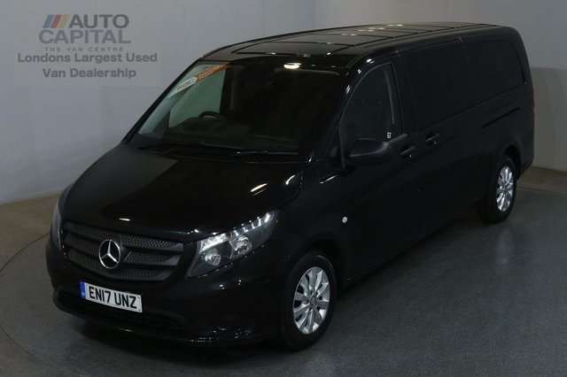 2017 17 MERCEDES-BENZ VITO 2.1 114 BLUETEC TOURER SELECT 136 BHP EXTRA LWB EURO 6 AIR CON 9 SEATER AIR CONDITIONING EURO 6 ENGINE ONLY £77 ROAD TAX 6 MONTHS
