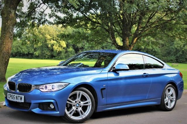 2015 65 BMW 4 SERIES 2.0 420d M Sport 2dr