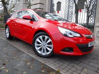 USED 2015 15 VAUXHALL ASTRA 2.0 GTC SRI CDTI S/S 3d 162 BHP *** FINANCE & PART EXCHANGE WELCOME *** 1 OWNER FRONT & REAR PARKING SENSORS AIR/CON CRUISE CONTROL HALF LEATHER INTERIOR