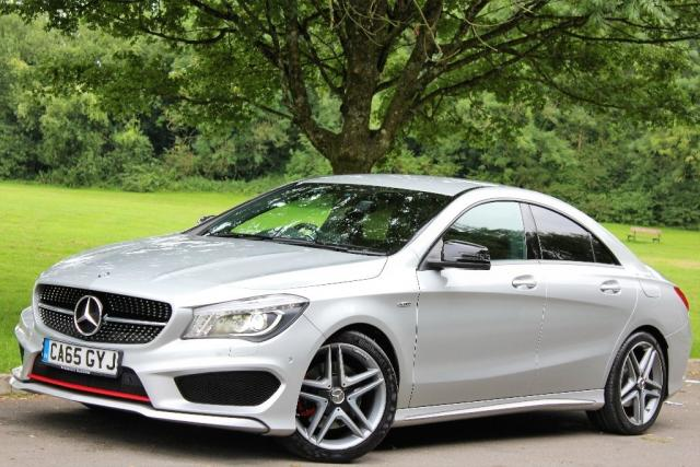 2016 65 MERCEDES-BENZ CLA 2.0 CLA250 Engineered by AMG 7G-DCT 4MATIC (s/s) 4dr