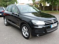 USED 2012 62 VOLKSWAGEN TOUAREG 3.0 V6 SE TDI BLUEMOTION TECHNOLOGY 5d AUTO 202 BHP