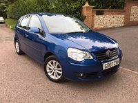 2007 VOLKSWAGEN POLO 1.4 S 5d AUTO 74 BHP PLEASE CALL TO VIEW £4450.00