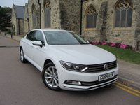 USED 2015 65 VOLKSWAGEN PASSAT 1.6 SE TDI BLUEMOTION TECHNOLOGY 4d 119 BHP ++  FULL VW SERVICE HISTORY ++