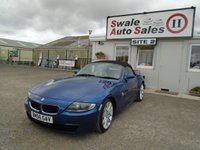 USED 2006 55 BMW Z4 2.5 Z4 SI SPORT ROADSTER 215 BHP FINANCE AVAILABLE ON REQUEST