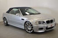 USED 2005 54 BMW M3 3.2 [NAV] CONVERTIBLE 340 BHP ONLY 81K + FSH + 19 INCH ALLOYS + NAV