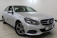 USED 2013 13 MERCEDES-BENZ E CLASS 2.1 E250 CDI SE 4DR AUTOMATIC 202 BHP SAT NAV Bluetooth Full Service History  FULL MERCEDES SERVICE HISTORY + HEATED LEATHER SEATS + SAT NAVIGATION + PARKING SENSOR + BLUETOOTH + CRUISE CONTROL + CLIMATE CONTROL + MULTI FUNCTION WHEEL + 17 INCH ALLOY WHEELS