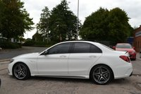 USED 2016 16 MERCEDES-BENZ C CLASS 4.0 AMG C 63 PREMIUM 4d AUTO 469 BHP AMG EXHAUST, NIGHT PACK, PAN