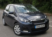 USED 2015 15 PEUGEOT 108 1.0 ACTIVE 5d 68 BHP ONLY 6100 MILES FROM NEW!!!