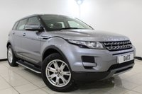 USED 2013 13 LAND ROVER RANGE ROVER EVOQUE 2.2 SD4 PURE TECH 5DR 190 BHP Full Service History  FULL SERVICE HISTORY + HEATED LEATHER SEATS + SAT NAVIGATION + PARKING SENSOR + PANORAMIC ROOF + BLUETOOTH + CRUISE CONTROL + MULTI FUNCTION WHEEL + CLIMATE CONTROL + 18 INCH ALLOY WHEELS