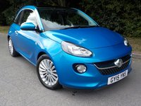 2015 VAUXHALL ADAM 1.4 GLAM 3d 98 BHP £SOLD