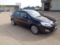 2011 VAUXHALL ASTRA 1.4 EXCITE 5d 98 BHP £SOLD