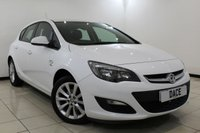 USED 2012 62 VAUXHALL ASTRA 1.4 ACTIVE 5DR 98 BHP FULL SERVICE HISTORY + HALF LEATHER SEATS + BLUETOOTH + CRUISE CONTROL + MULTI FUNCTION WHEEL + AIR CONDITIONING + 17 INCH ALLOY WHEELS