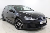 USED 2014 64 VOLKSWAGEN GOLF 2.0 GTD 5DR 181 BHP 1 Owner Bluetooth Cheap Road Tax  SERVICE HISTORY + BLUETOOTH + CRUISE CONTROL + PARKING SENSOR + MULTI FUNCTION WHEEL + CLIMATE CONTROL + 18 INCH ALLOY WHEELS