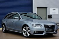 USED 2010 60 AUDI A4 2.0 AVANT TDI S LINE SPECIAL EDITION AUTO (SAT NAV)