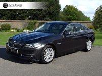 USED 2014 14 BMW 5 SERIES 3.0 530D LUXURY 4d AUTO 255 BHP