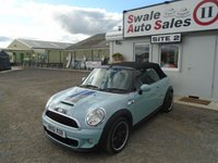 USED 2011 61 MINI CONVERTIBLE 2.0 COOPER SD 141 BHP £35 PER WEEK, NO DEPOSIT - SEE FINANCE LINK
